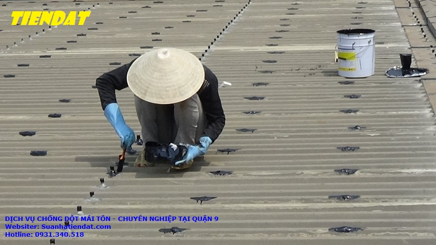 DỊCH VỤ chống dột mái tôn tại quận 9 - CHUYÊN NGHIỆP, thợ chống dột chuyên nghiệp ở quận 9, chống dột mái tôn chất lượng uy tín. chống dột mái tôn nhà xưởng